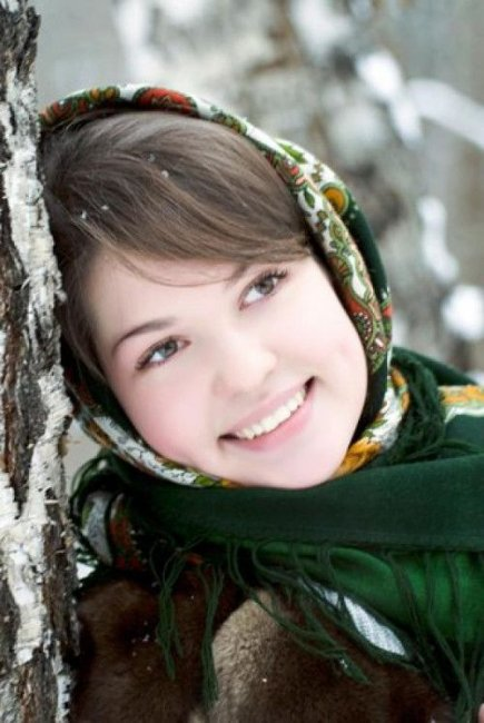 Русская красотка фото